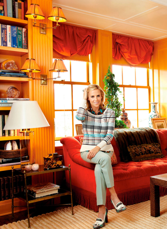 Tory Burch At Home In New York Madras amp Tonic